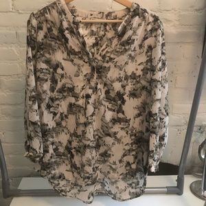3/4 Sleeve Blouse size large